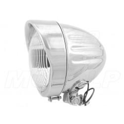 REFLEKTOR LIGHTBAR LAMPA PRZÓD 4,5 CALA CHROM HOMOLOGACJA E4